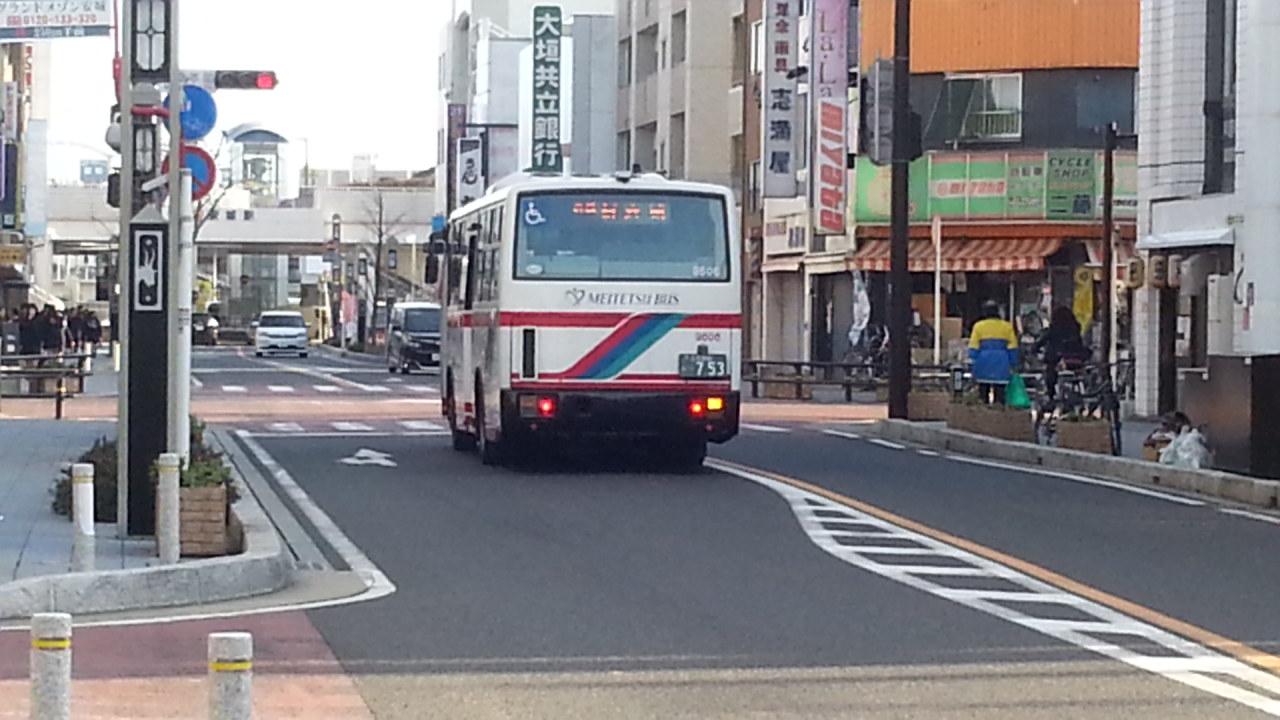20160224_081628 末広北バス停 - 名鉄バス