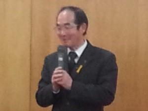 前古井町内会長杉浦正之さん