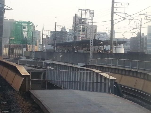 20160330_162159 名古屋いき快速 - 名鉄の大曽根