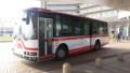 20160411_074142 更生病院 - 名鉄バス(定刻しゅっぱつ)