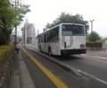 20160427_080952 市役所・文化センターバス停 - みぎまわり循環線バス