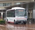 20160428_075444 更生病院 - 名鉄バス(13分おくれでしゅっぱつ)