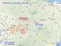 南阿蘇鉄道を中心とした熊本地震による被害の地図(あきひこ)