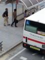 20160607_075724 あんじょうえきまえ - 更生病院いき名鉄バス