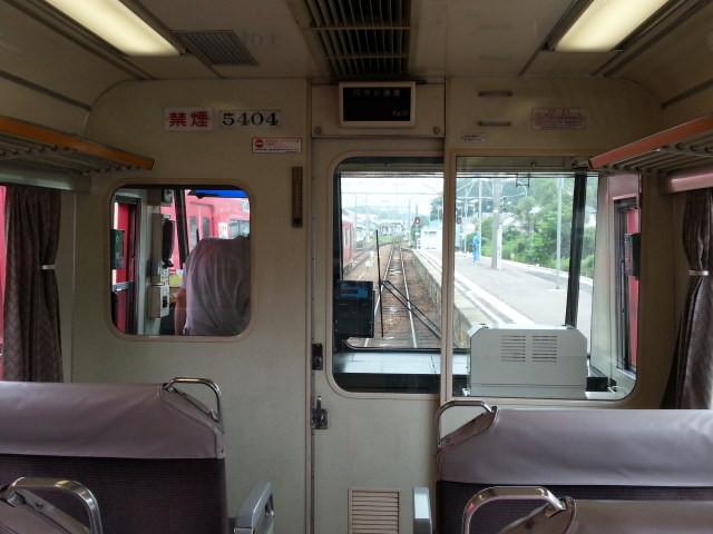 20160629_102535 名古屋いき特急 - 先頭車両(5404)