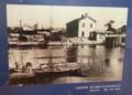 20160706 「最初の鉄道計画」旧長浜駅舎(1960年ごろ和田清太郎さんさつ