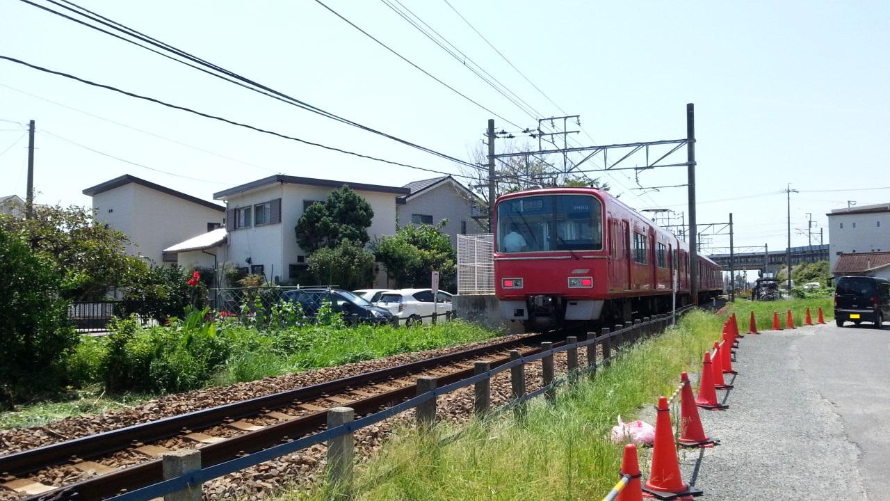 20160731_105847 碧海古井 - 吉良吉田いき急行(うしろ)3500系