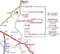 挙母線路線図 (2) 640-580