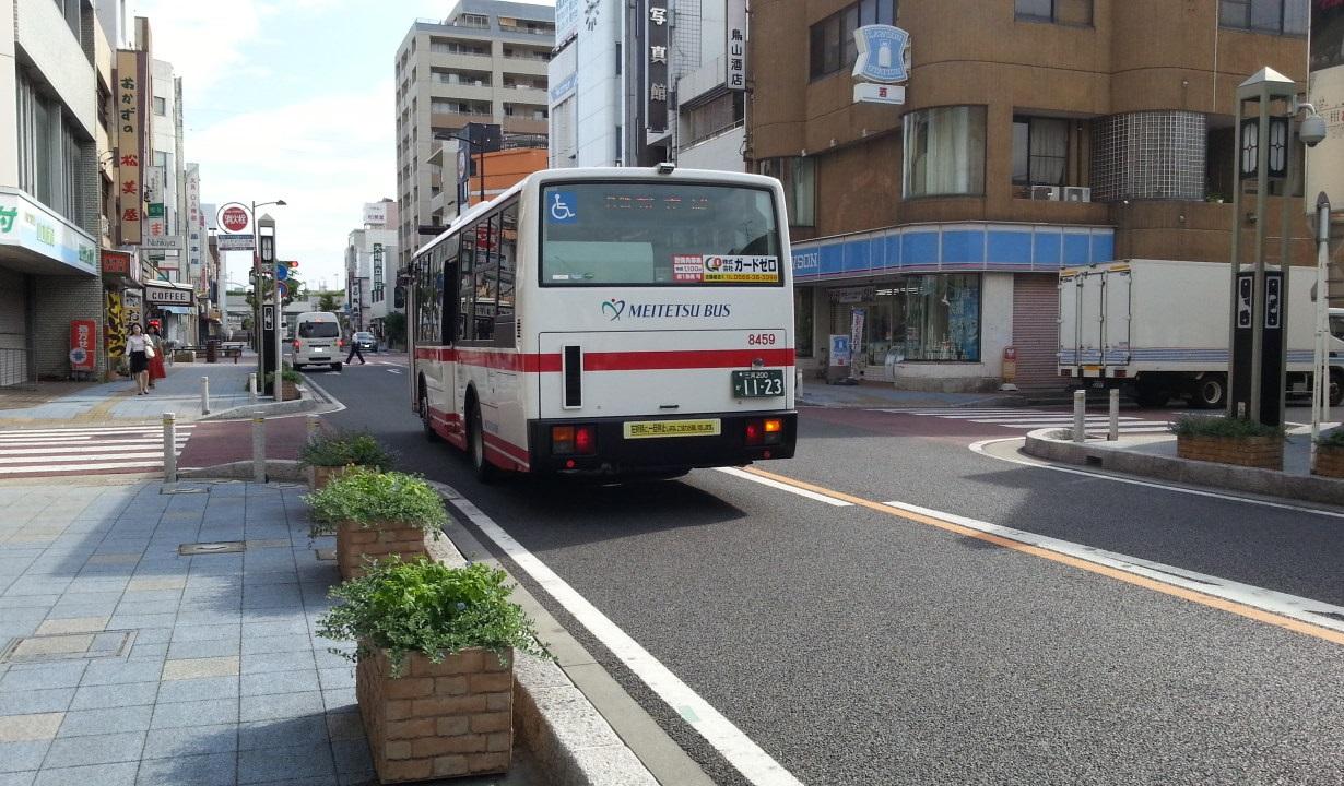 20160816_081608 碧海信用金庫本店まえ - 名鉄バス