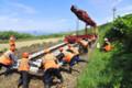 樺太の鉄道がロシア軌間に改軌 (2) あさひ