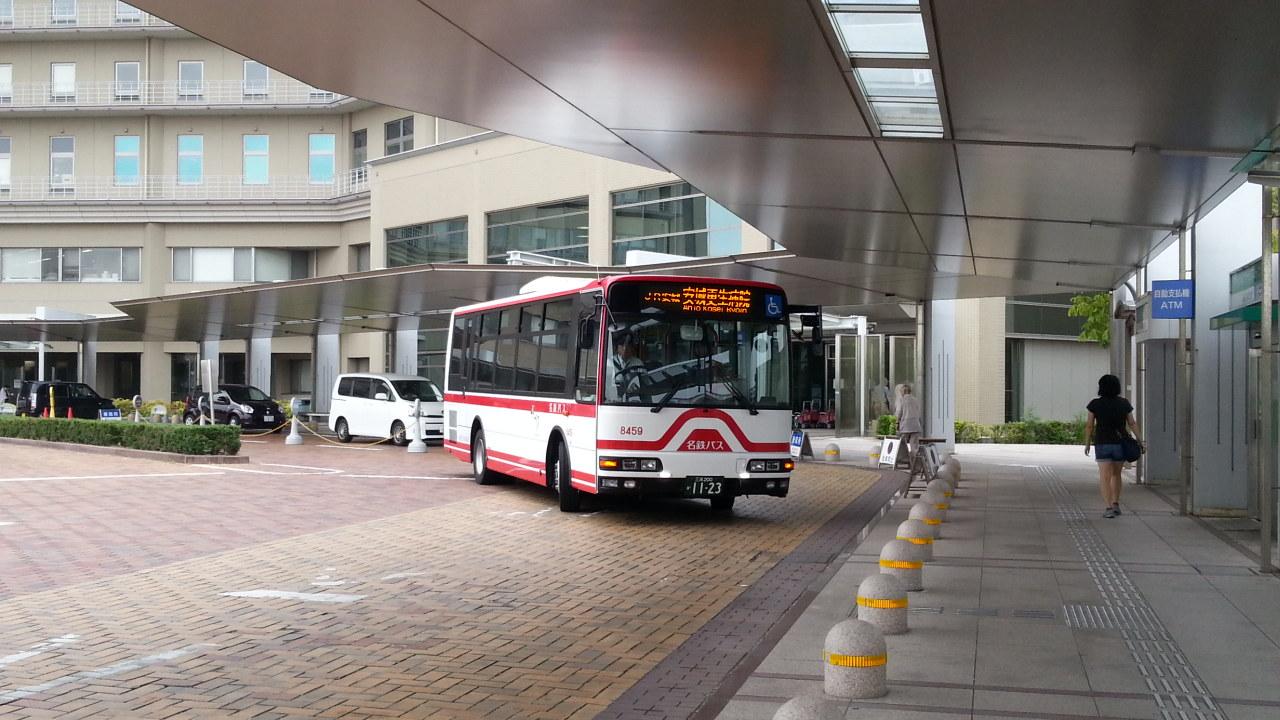 20160818_080052 更生病院 - 名鉄バス