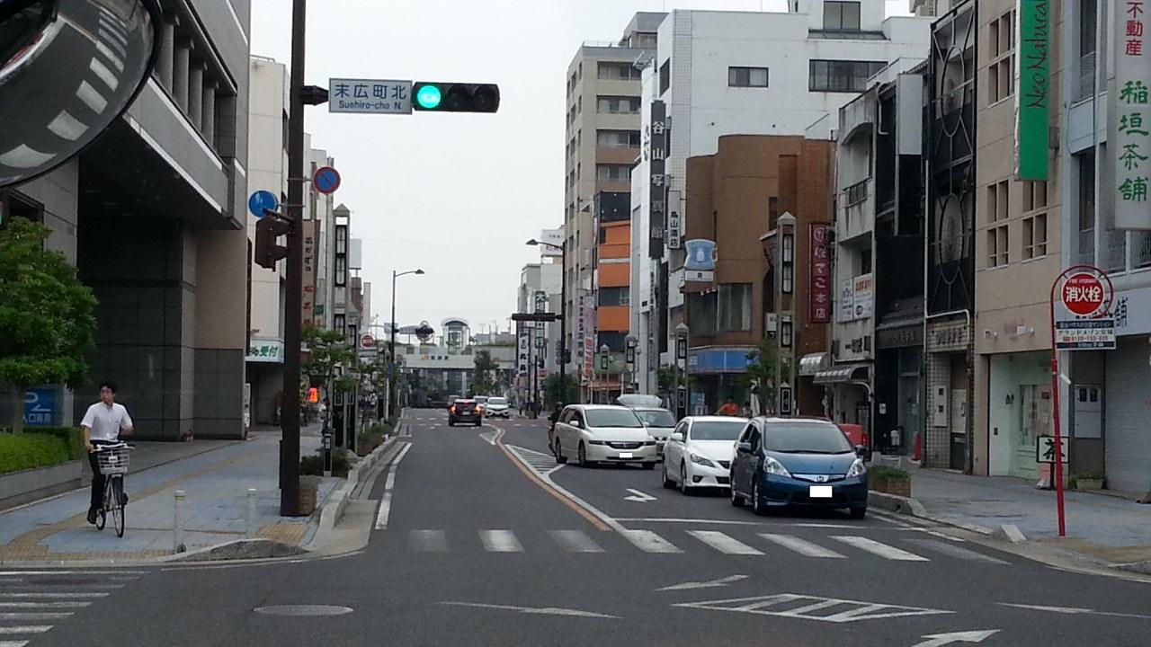 20160818_081408 名鉄バス - 碧海信用金庫本店まえ