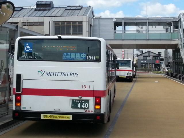 20160903_140805 福岡町いきバス - 岡崎駅前