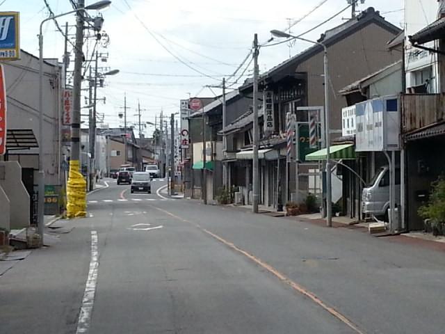 20160903_141747 福岡町いきバス - 福岡のまちなみ