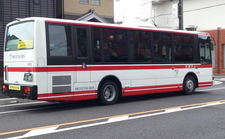 20160905_080325 御幸本町バス停 - 名鉄バス 1170-720