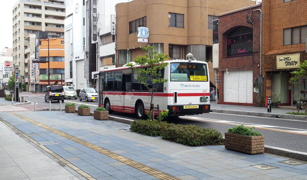 20160906_075828 碧海信用金庫本店まえ - 名鉄バス 1230-720