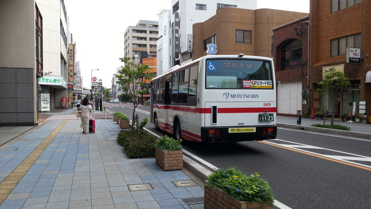 20160912_075833 碧海信用金庫本店 - 名鉄バス