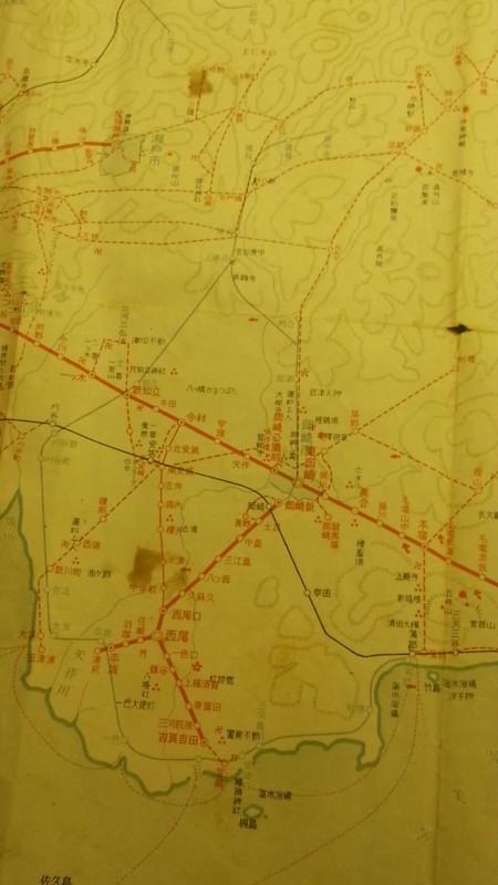 20160915 名鉄資料館 (9) 路線図 - 新名古屋駅開業まえの沿線案内図 720-1280