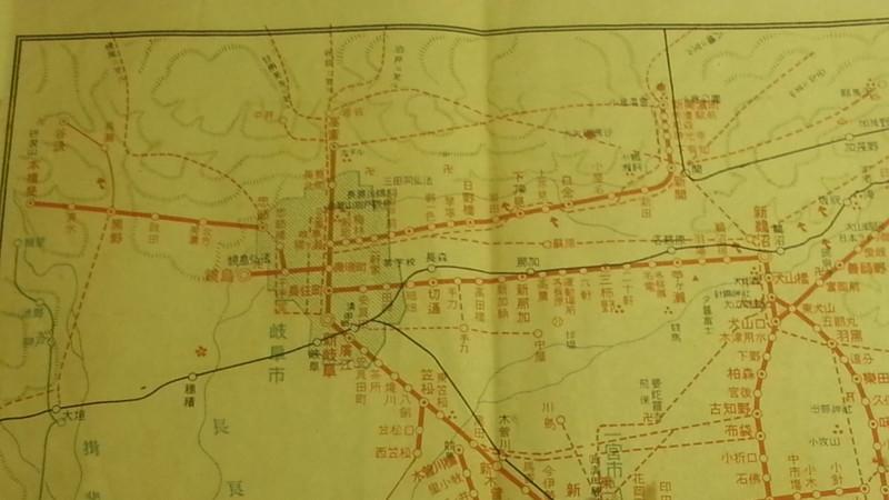 20160915 名鉄資料館 (11) 路線図 - 新名古屋駅開業まえの沿線案内図
