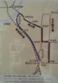 20160915 名鉄資料館 (38) 地図 - 枇杷島橋~新名古屋間の路線(1941年8月)5