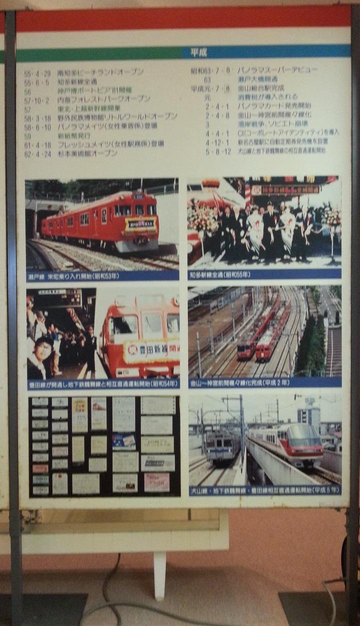 20160915 名鉄資料館 (72) 写真 - 平成の歴史 720-1250