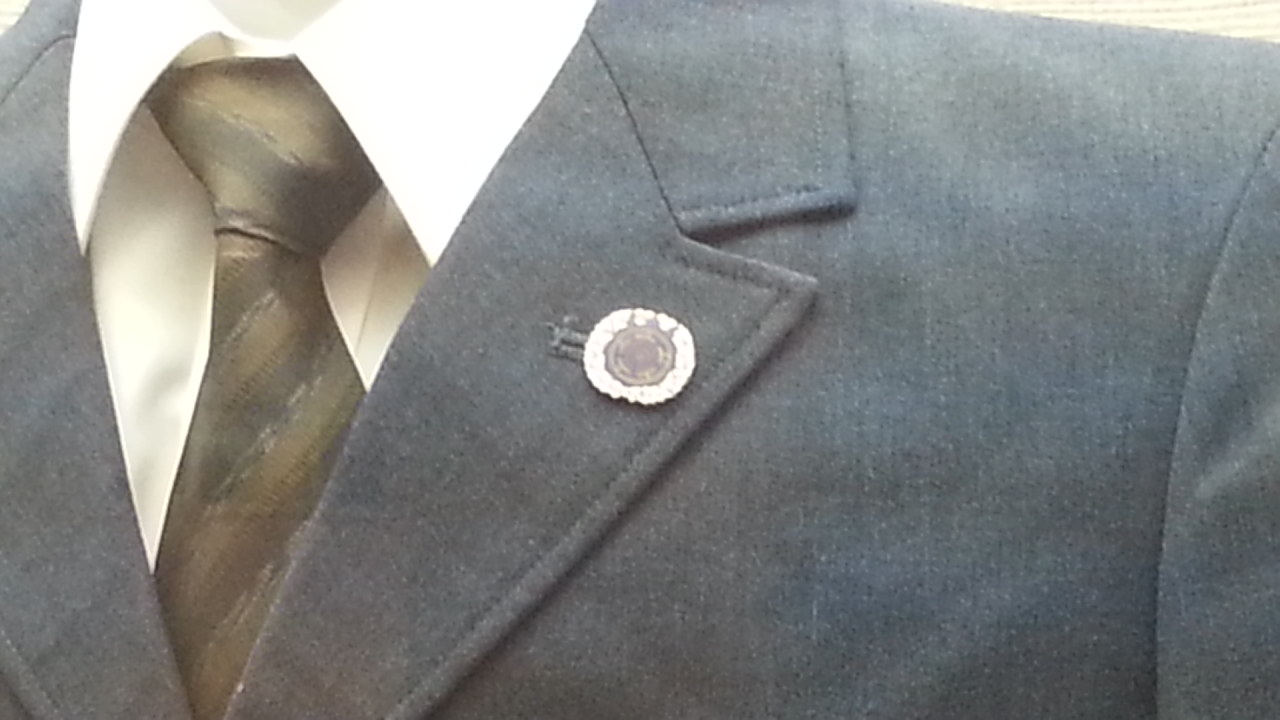 20160915 名鉄資料館 (93) もの - 襟章