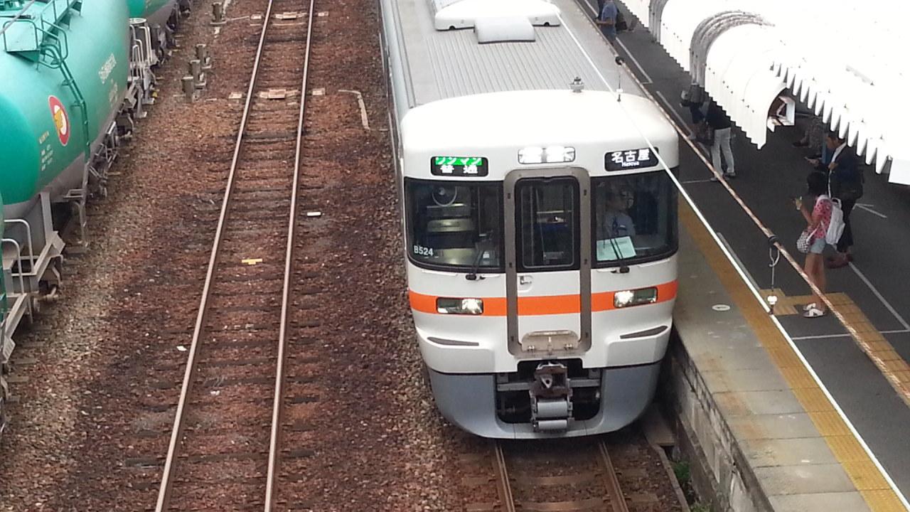 20160929_164324 蟹江 - 名古屋いきふつう