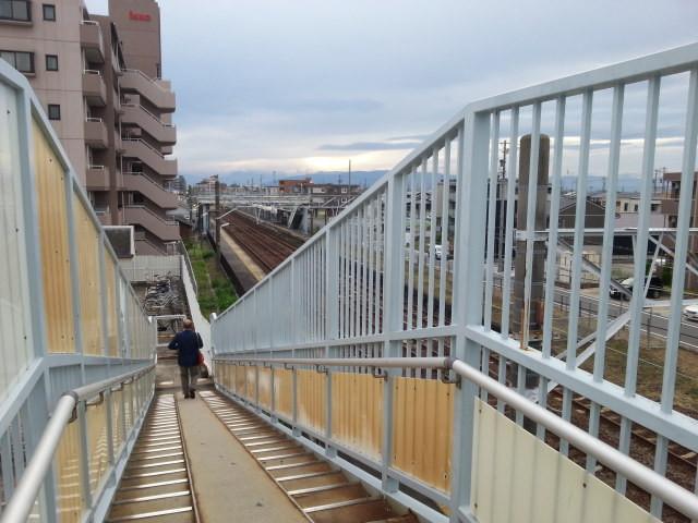 20160929_165238 蟹江=歩道橋(にし)