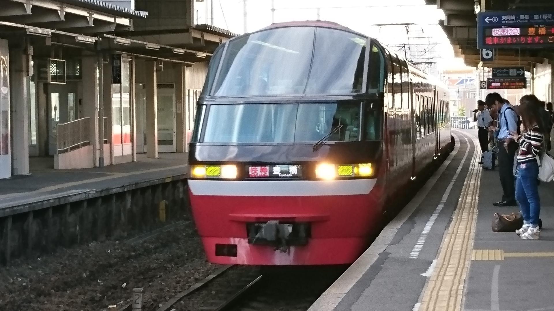 2016.10.16 (7) 知立 - 豊橋いき快速特急