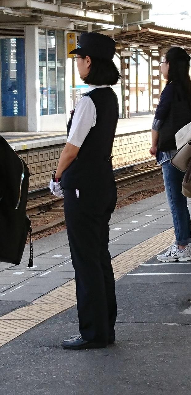 2016.10.19 神宮前まで (8) 名古屋本線あがりホーム 620-1280