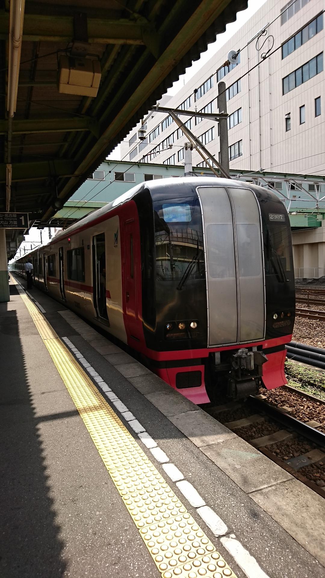 2016.10.19 神宮前まで (11) 神宮前 - 岐阜いき特急