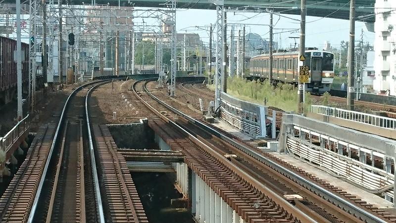 2016.10.19 西春まで (6) 岩倉いきふつう - えきかん(中央線電車)800-450