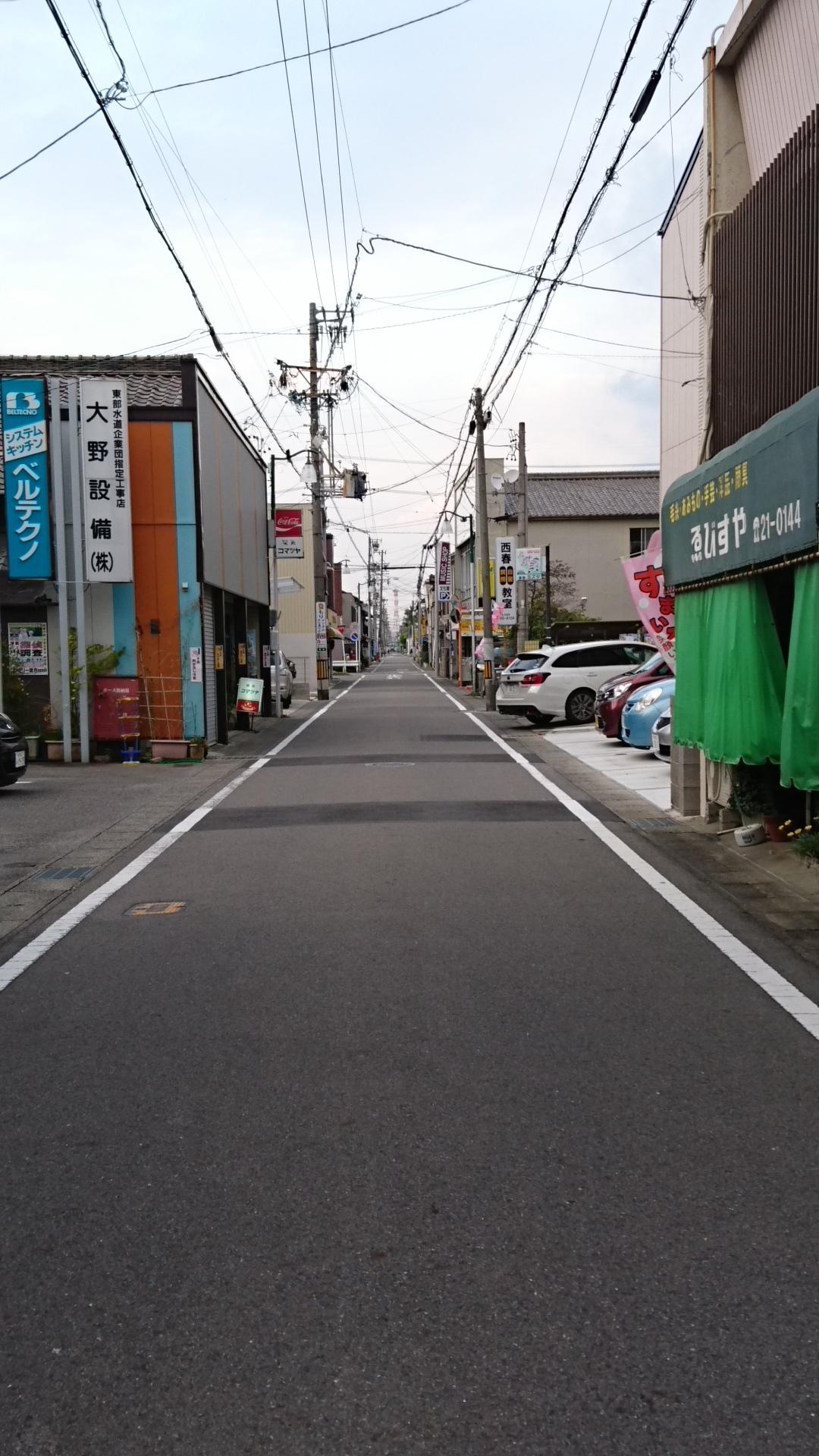 2016.10.19 西春まちあるき (11) 喫茶コマツヤのとおり 1080-1920
