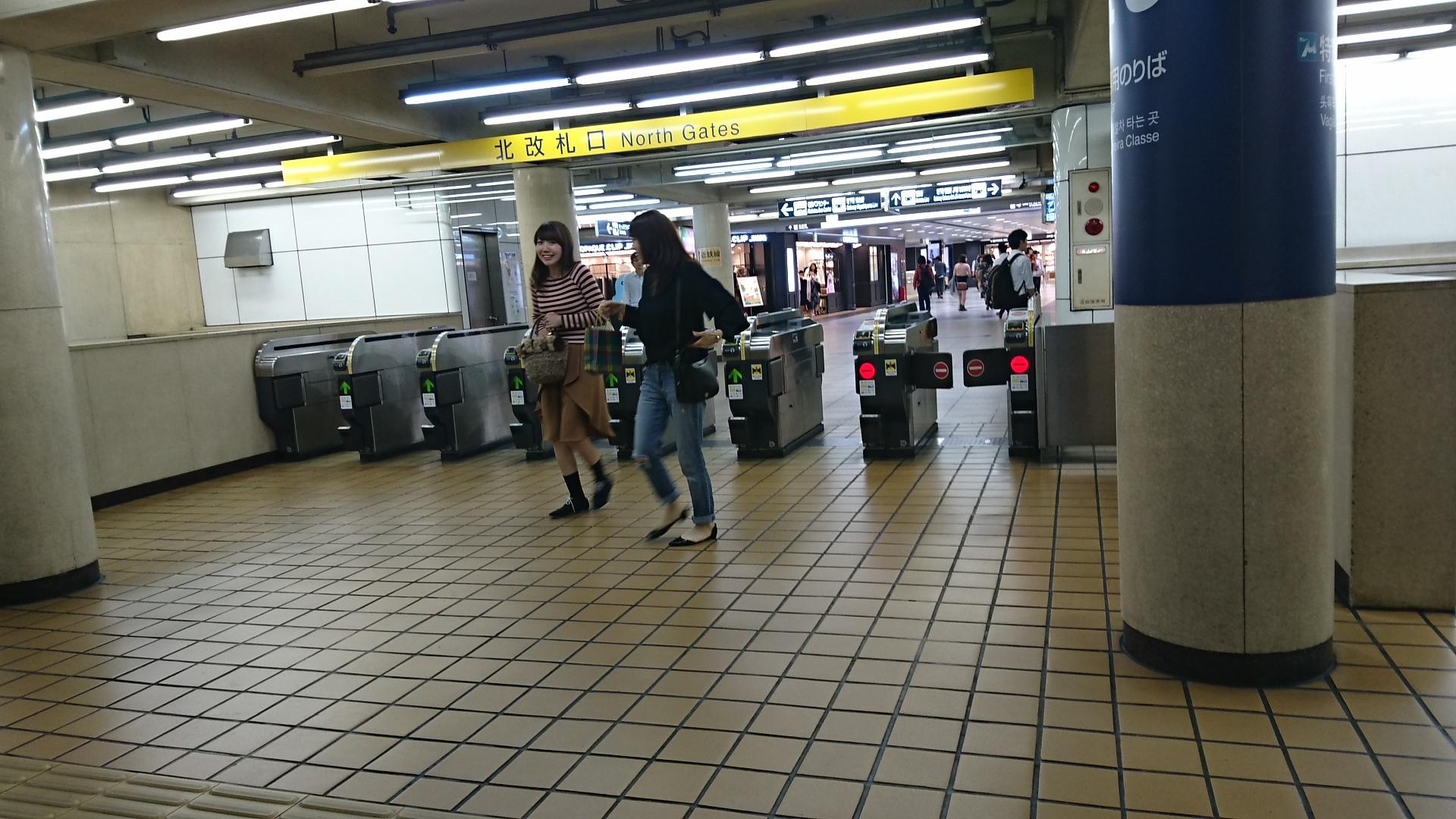 png_2016.10.19 名鉄名古屋駅のななつのかいさつぐち (4) きたかいさつぐち