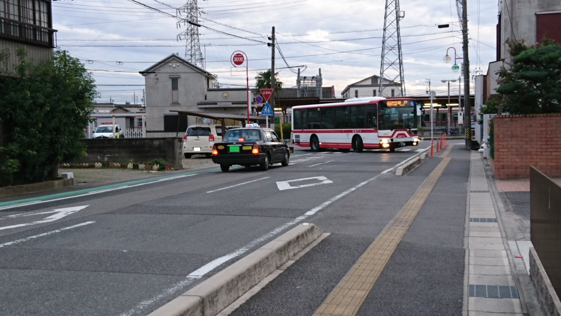 2016.10.23 名鉄バスで坂戸まで (1) 矢作橋駅バス停 - 名鉄バス 1920-1080