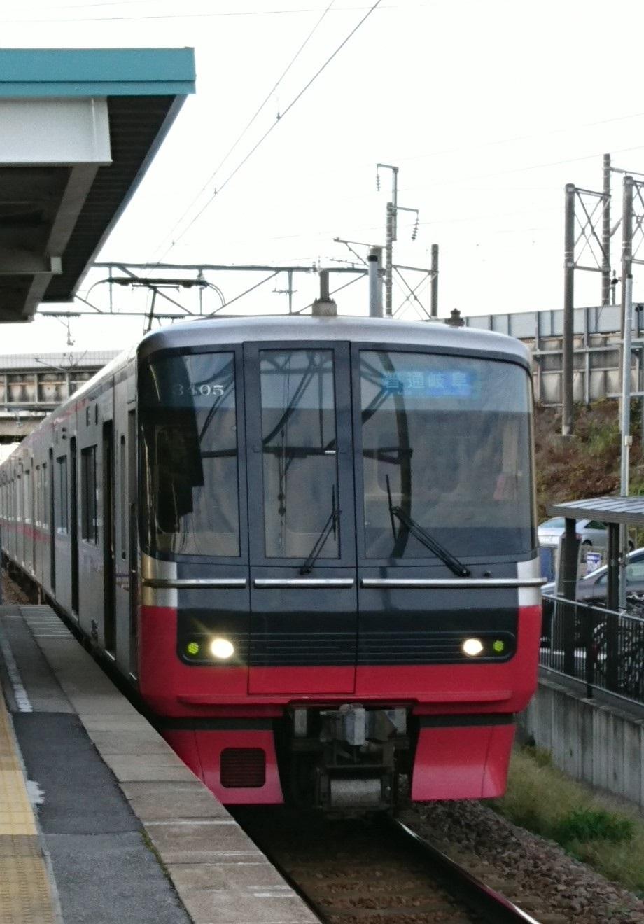 2016.10.31 あさ (1) 古井 - 岐阜いきふつう(3300系)920-1320