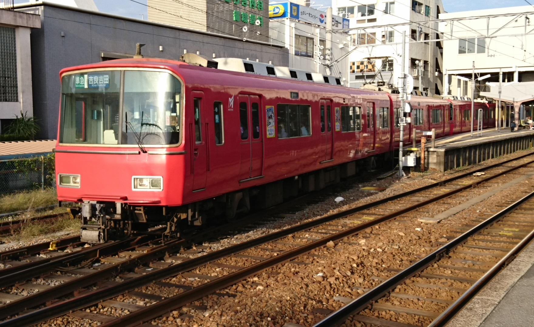 2016.10.31 あさ (3) しんあんじょう - 吉良吉田いき準急 1760-1080