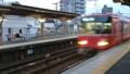 2016.10.31 東岡崎からのかえり (9) 矢作橋 - あがり通過電車