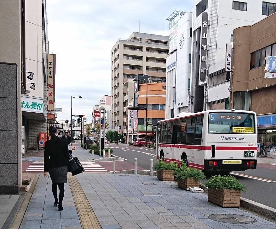 2016.11.2 あさ (1) 碧海信用金庫本店 - 名鉄バス 880-730