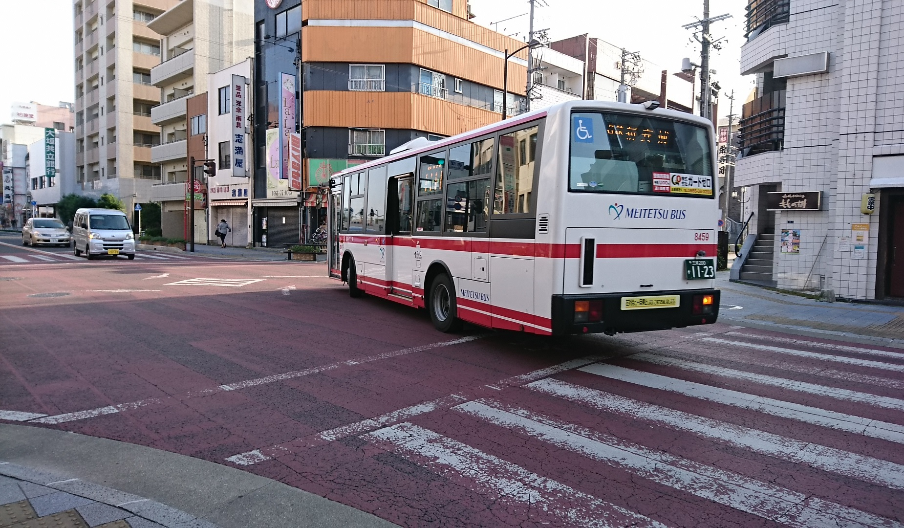 2016.11.07 (2) 御幸本町交差点 - 名鉄バス 1850-1080