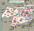稲沢市の地図(家造.net)
