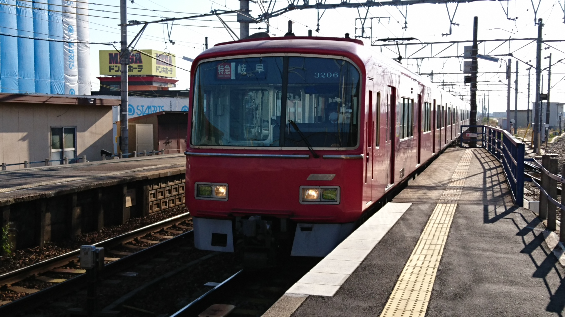 2016.11.12 名鉄 (10) しんあんじょう - 岐阜いき特急 1920-1080