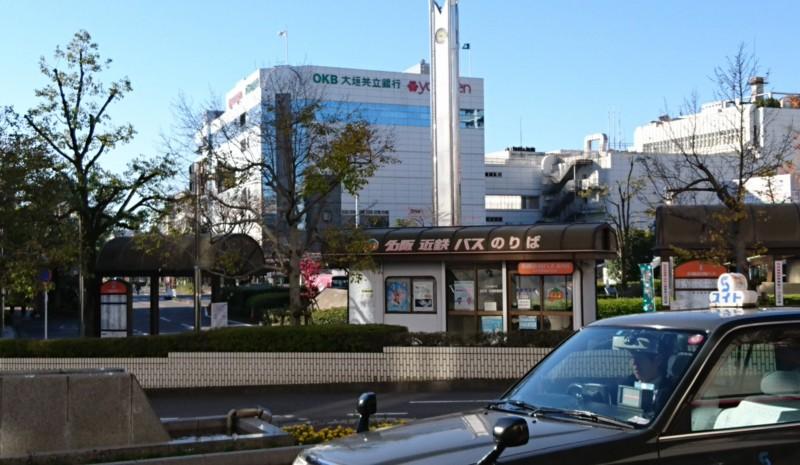 2016.11.16 大垣多良線 (1) 大垣駅前 - 名阪近鉄バスのりば 1860-1080