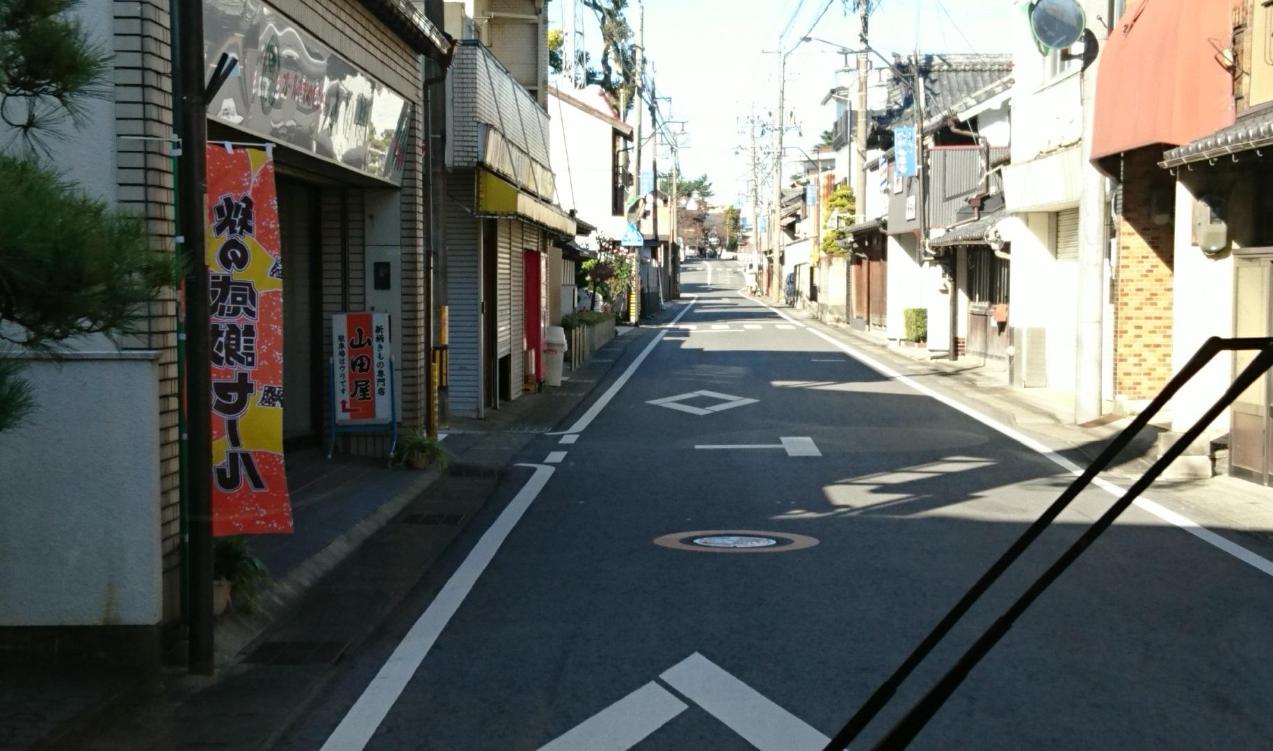 2016.11.16 大垣多良線 (19) 愛宕神社前 1830-1080