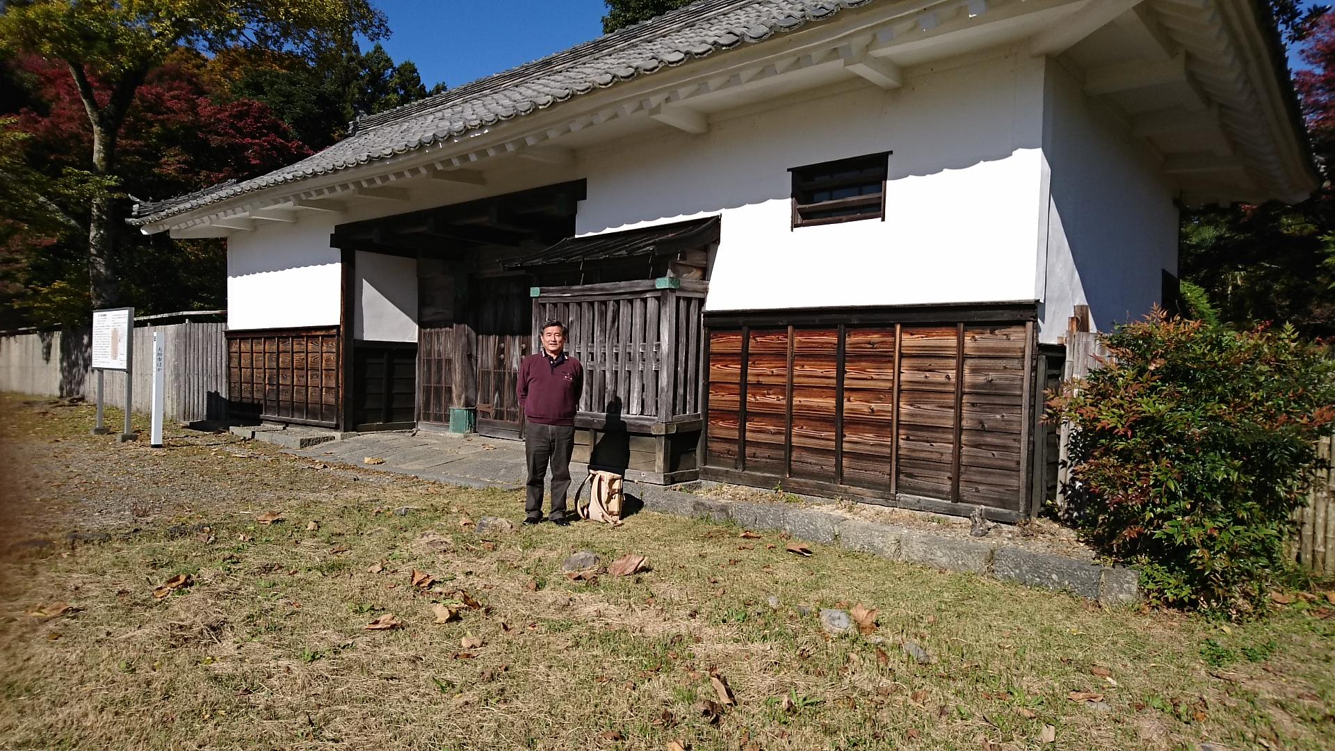 2016.11.16 上石津 (1) 宮 - 西高木家陣屋あと