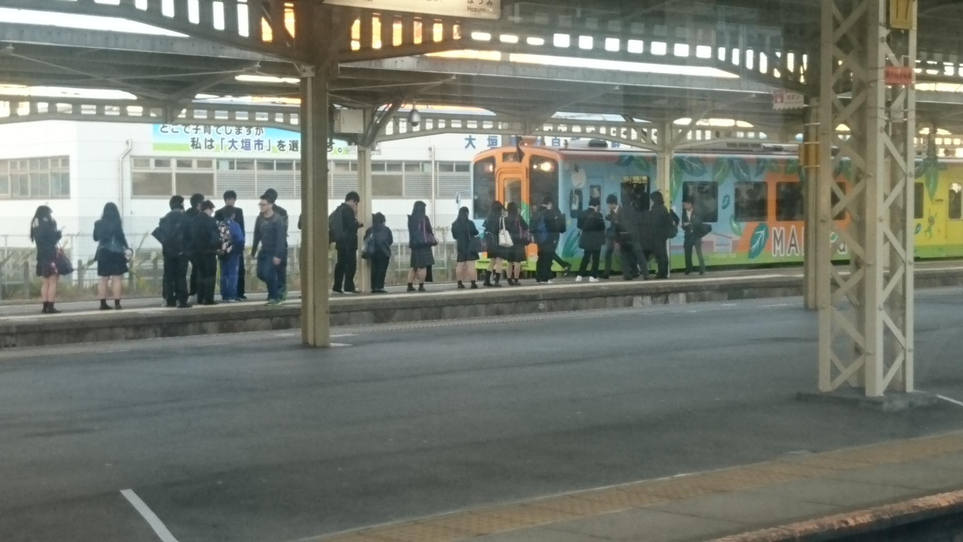 2016.11.16 大垣 - 樽見鉄道 (1)