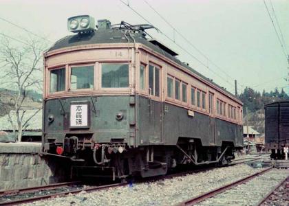 田口線の電車