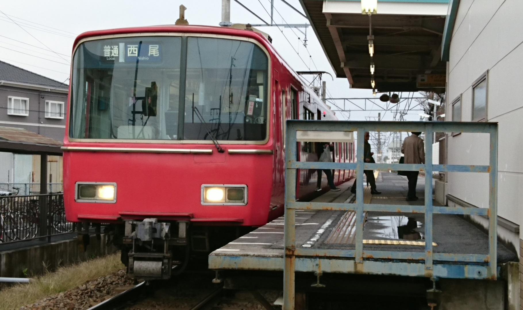 2016.11.19 古井のえきそうじ (4) 西尾いきふつう 1820-1080