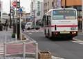 2016.11.28 あさの名鉄バス (7) 御幸本町交差点 1510-1080