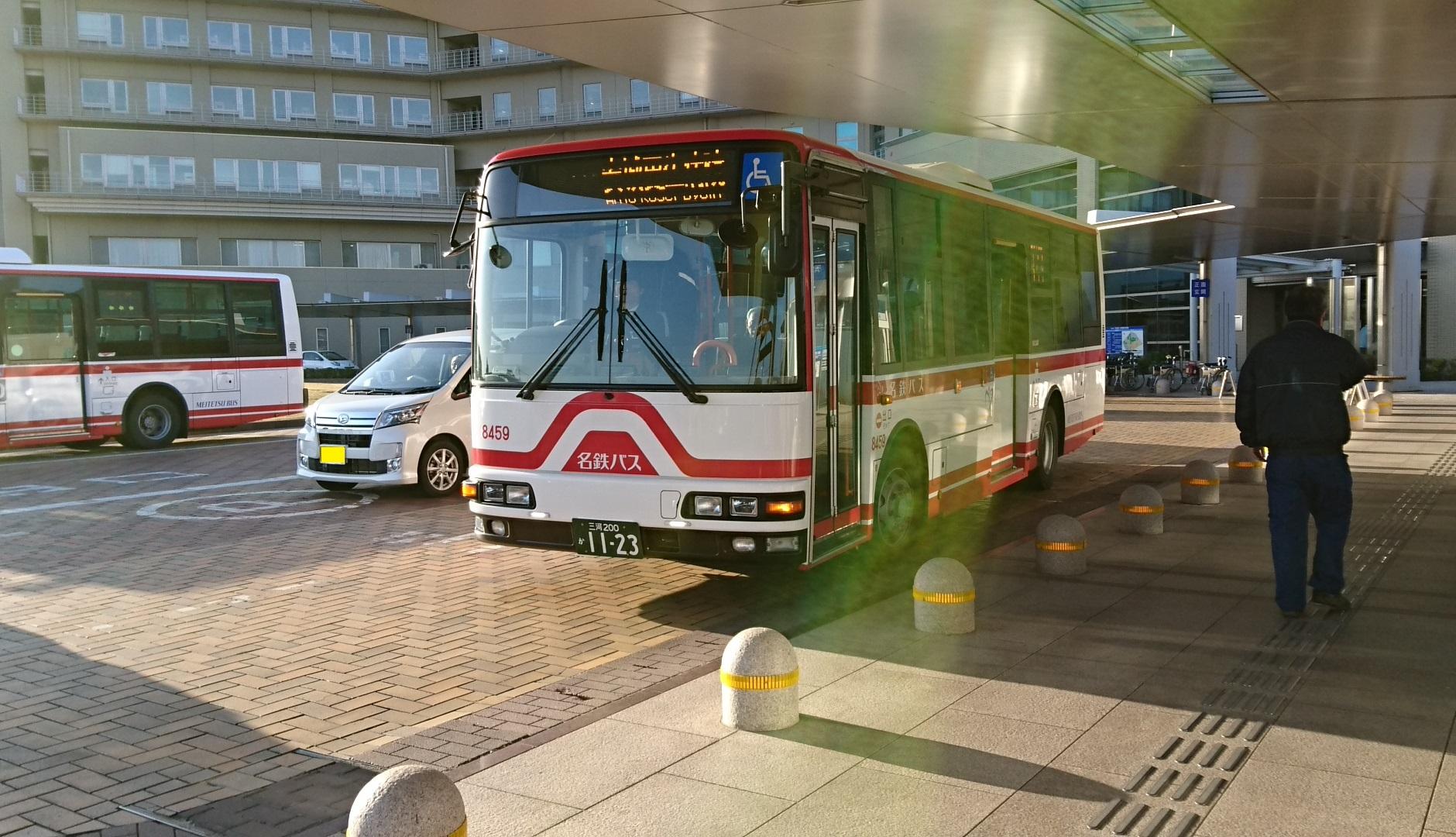 2016.12.2 あさ (2) 更生病院 - 名鉄バス 1880-1080